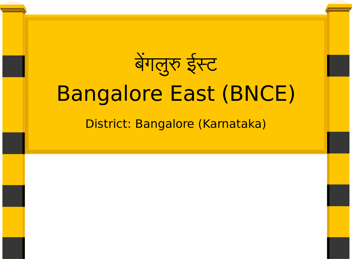 Bangalore East (BNCE) Railway Station