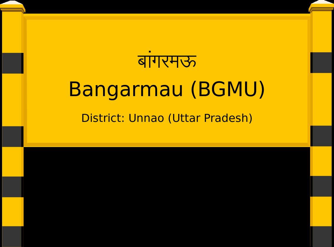 Bangarmau (BGMU) Railway Station