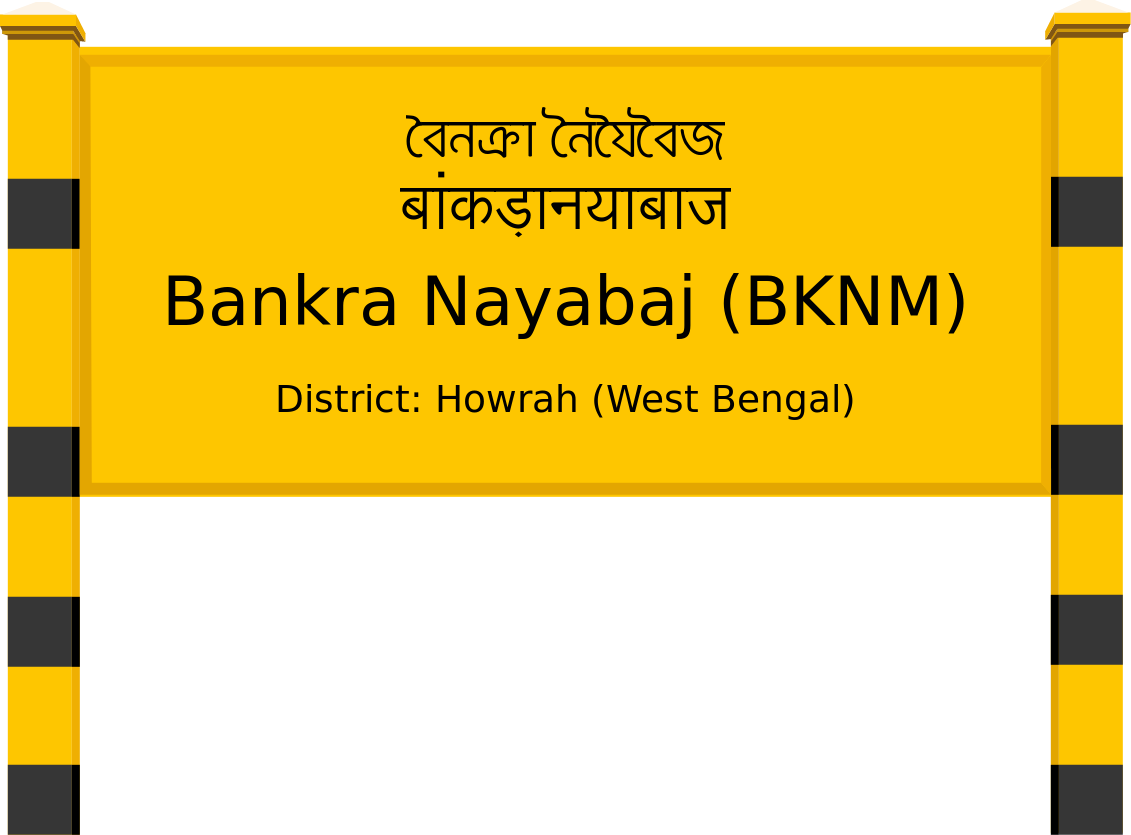 Bankra Nayabaj (BKNM) Railway Station
