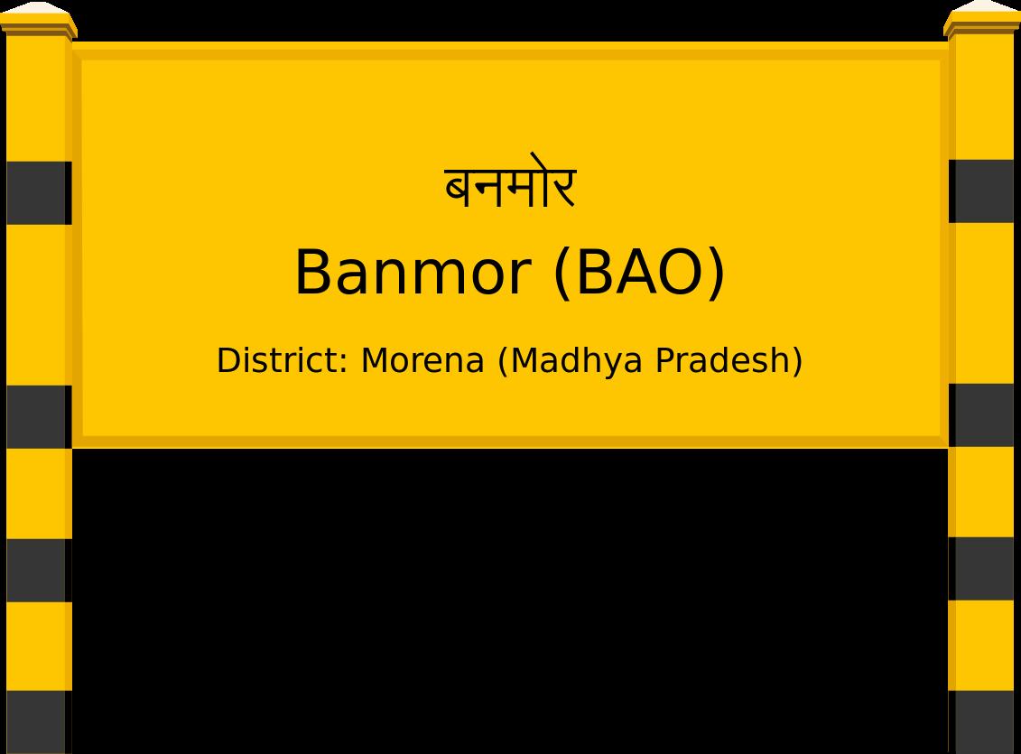 Banmor (BAO) Railway Station