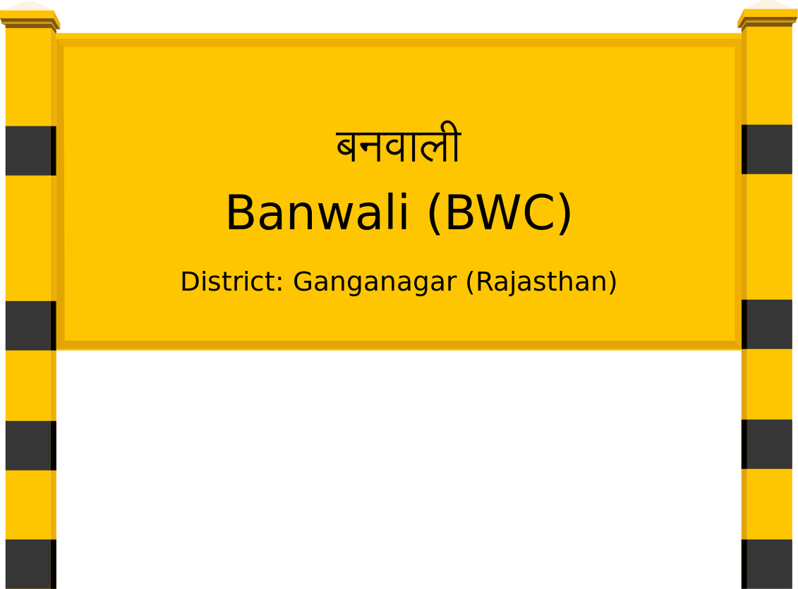 Banwali (BWC) Railway Station
