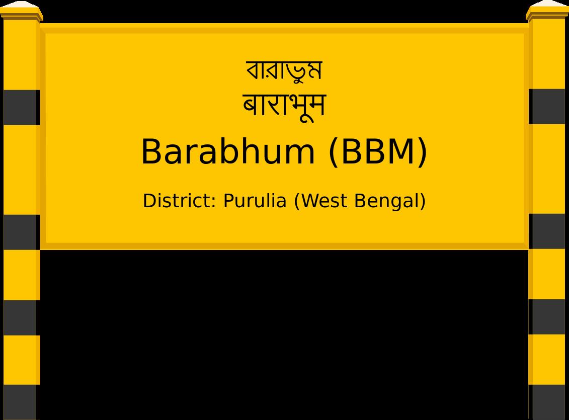 Barabhum (BBM) Railway Station