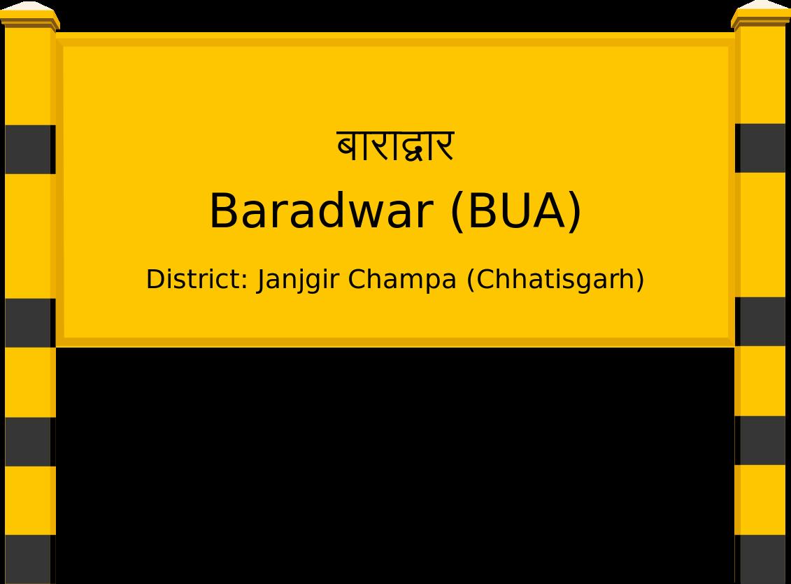 Baradwar (BUA) Railway Station