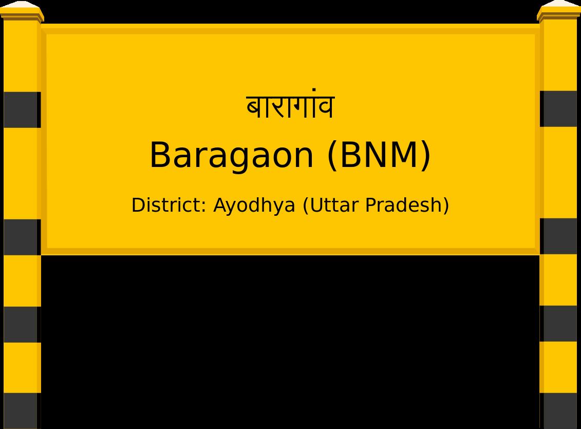 Baragaon (BNM) Railway Station