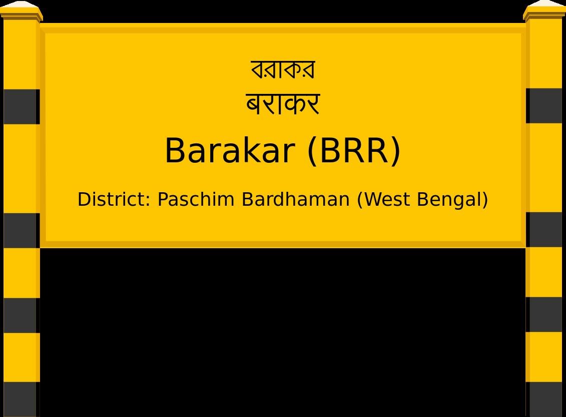 Barakar (BRR) Railway Station