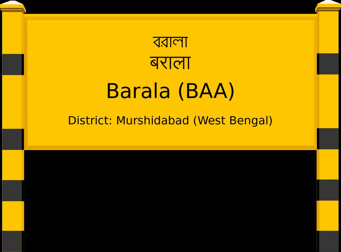 Barala (BAA) Railway Station