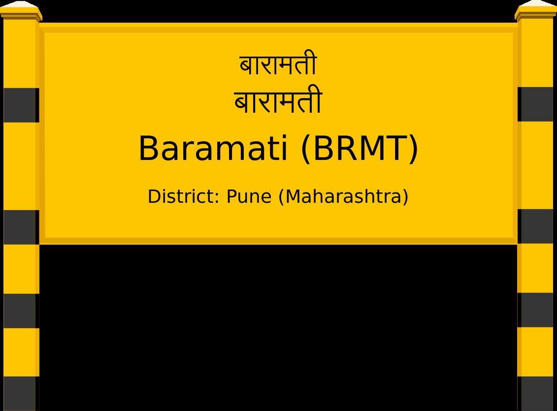 Baramati (BRMT) Railway Station