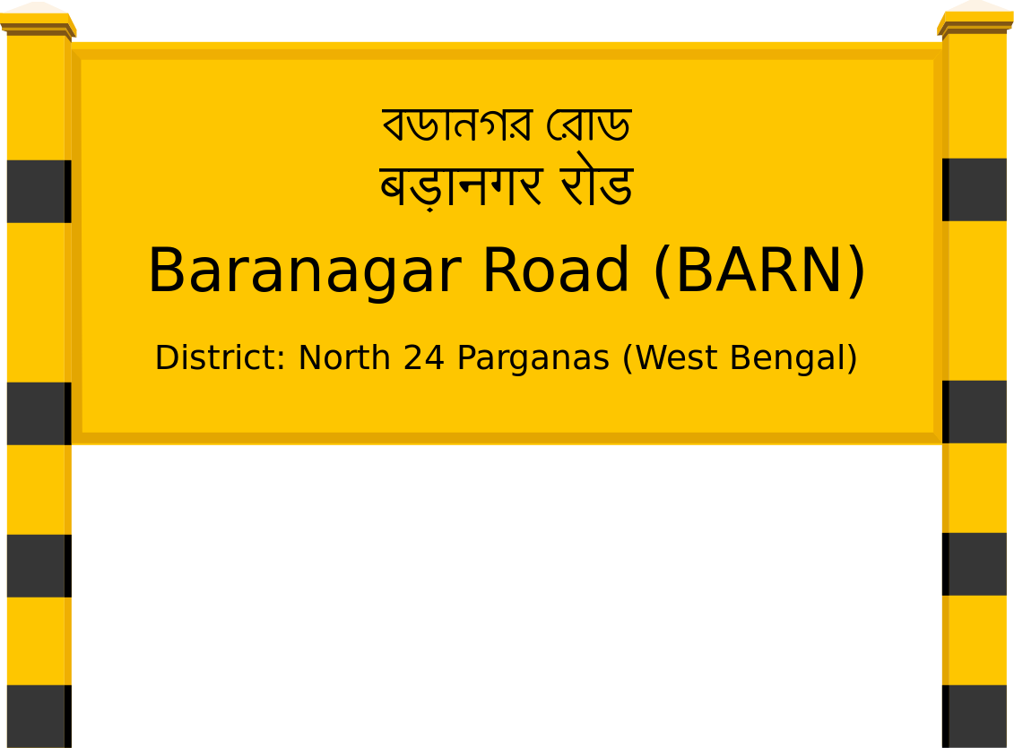 Baranagar Road (BARN) Railway Station