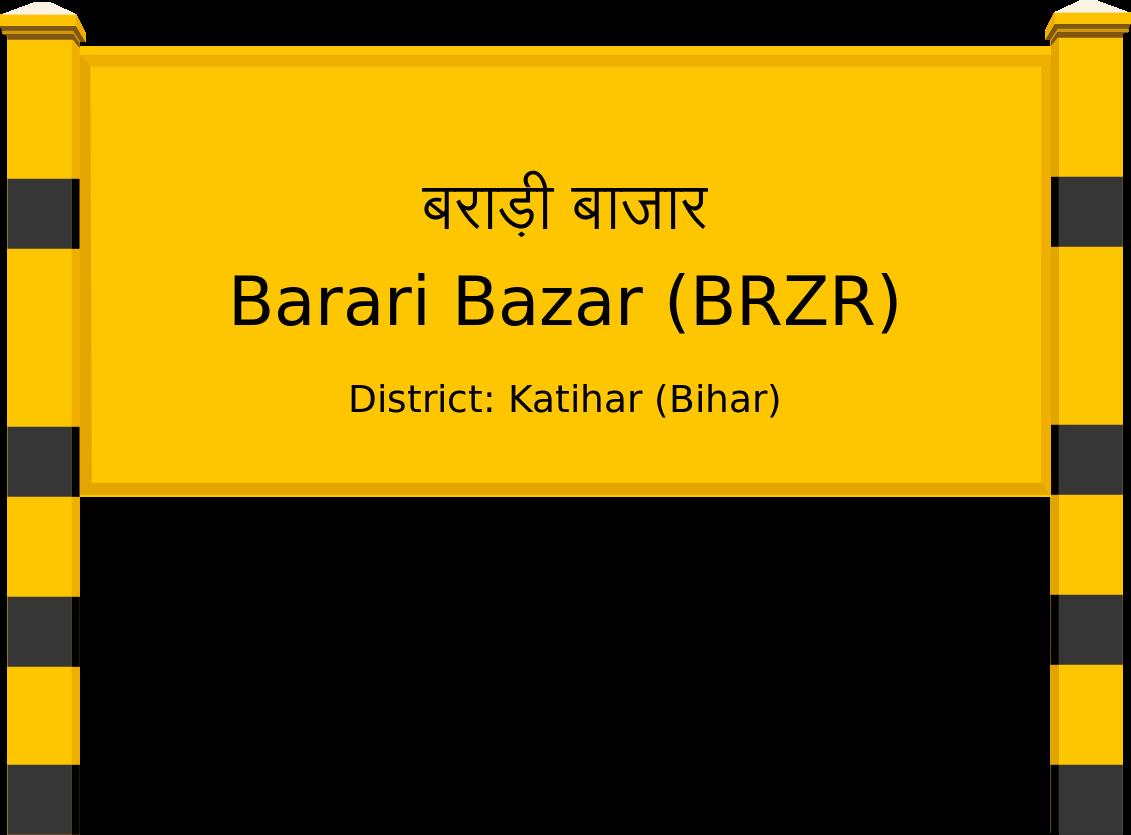 Barari Bazar (BRZR) Railway Station
