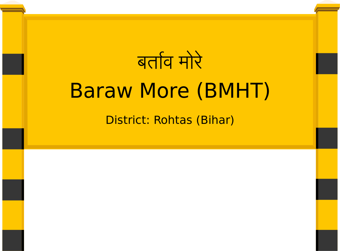 Baraw More (BMHT) Railway Station