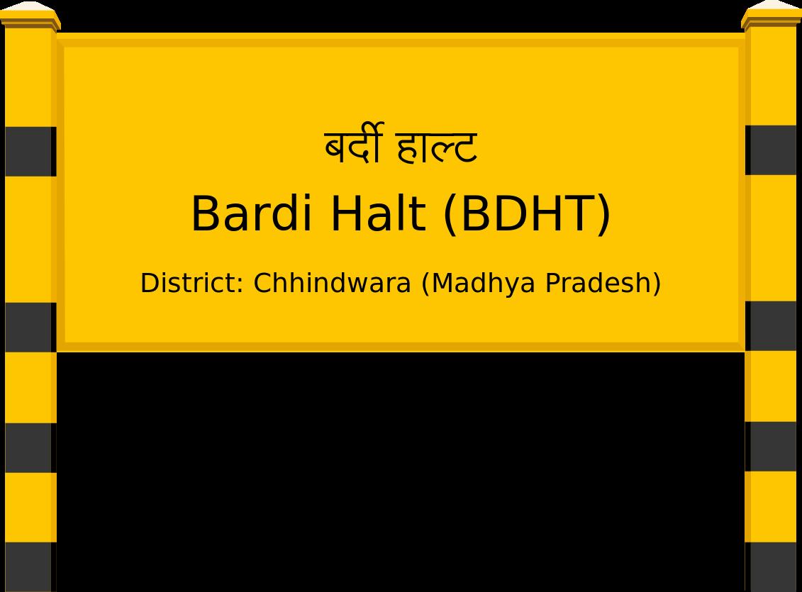 Bardi Halt (BDHT) Railway Station