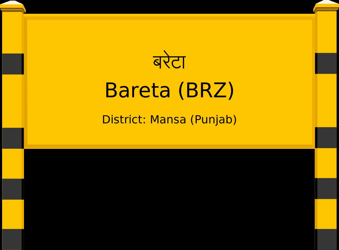 Bareta (BRZ) Railway Station
