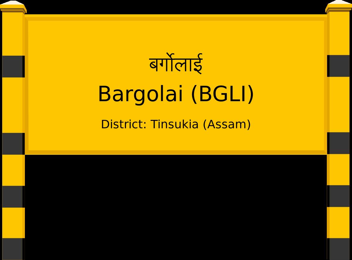 Bargolai (BGLI) Railway Station