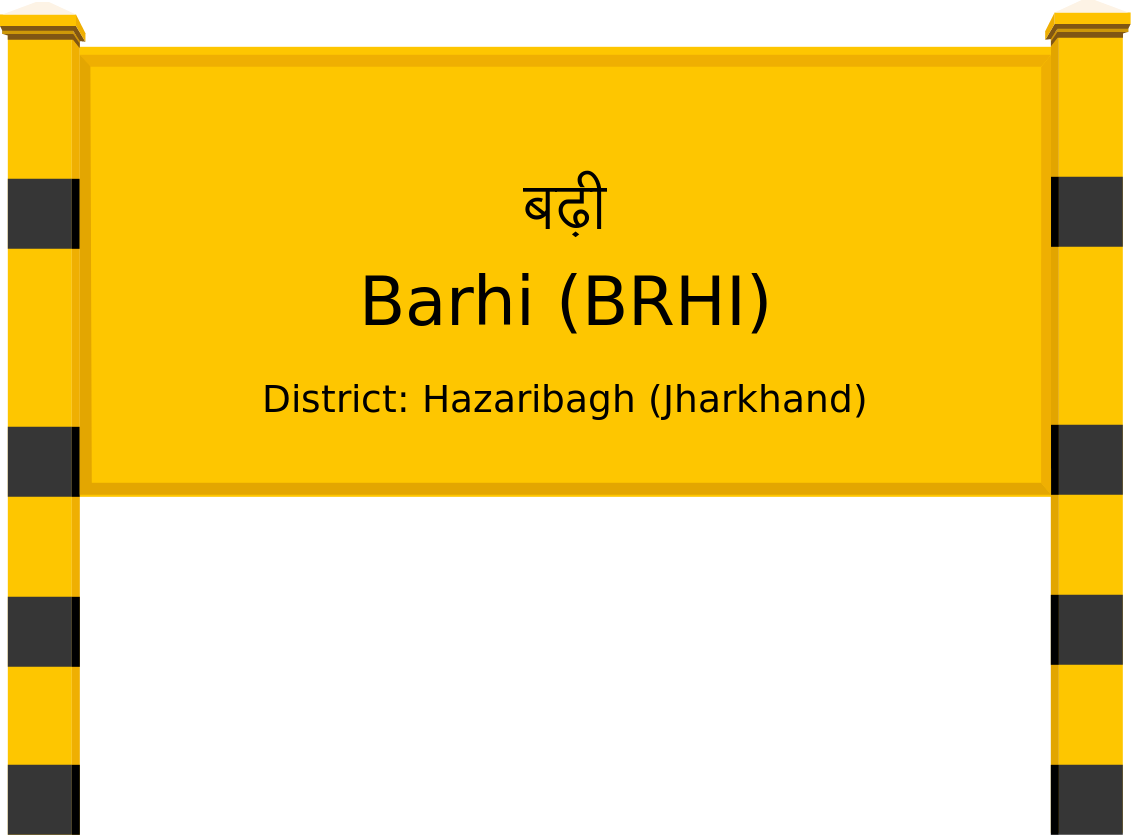 Barhi (BRHI) Railway Station
