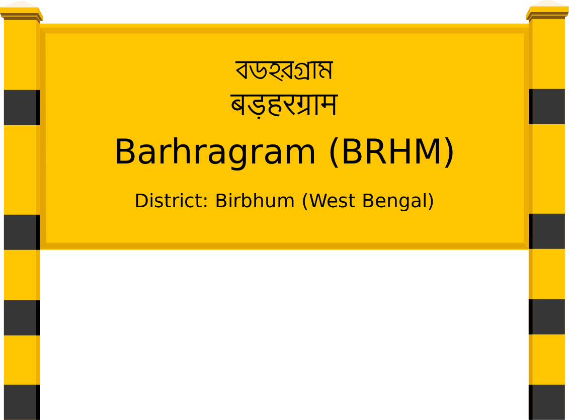 Barhragram (BRHM) Railway Station