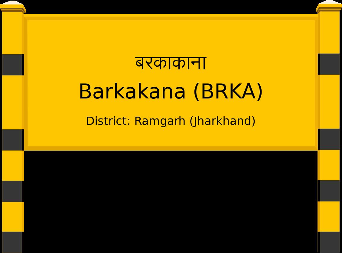 Barkakana (BRKA) Railway Station