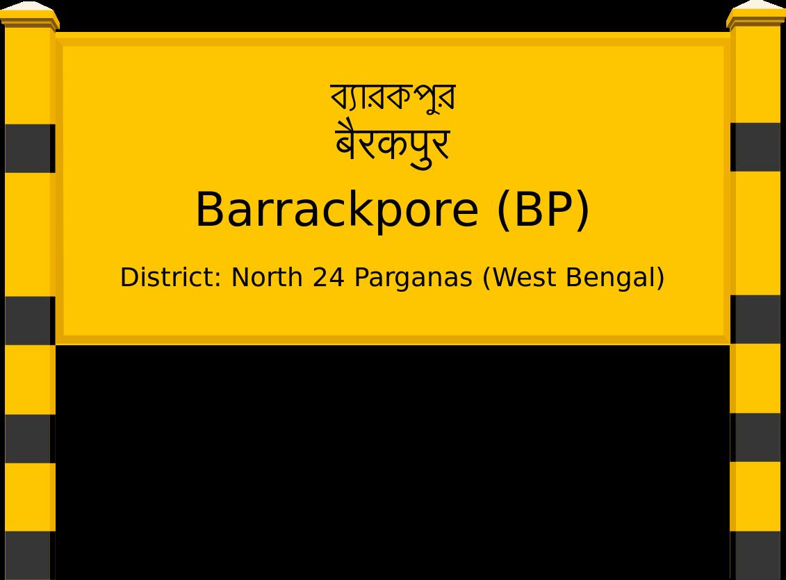 Barrackpore (BP) Railway Station