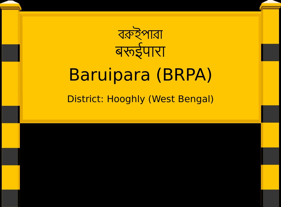 Baruipara (BRPA) Railway Station