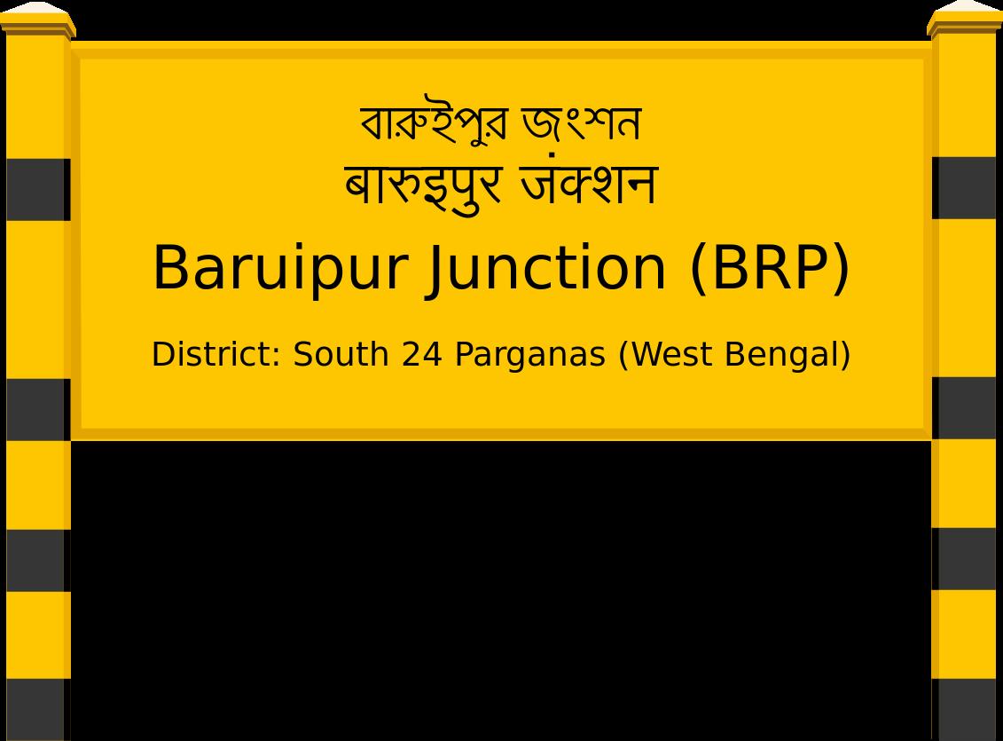 Baruipur Junction (BRP) Railway Station