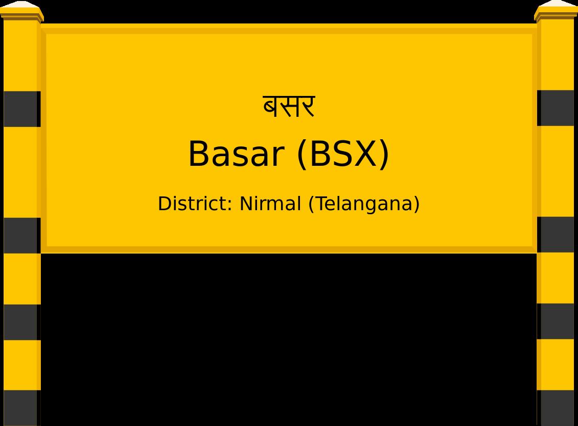 Basar (BSX) Railway Station