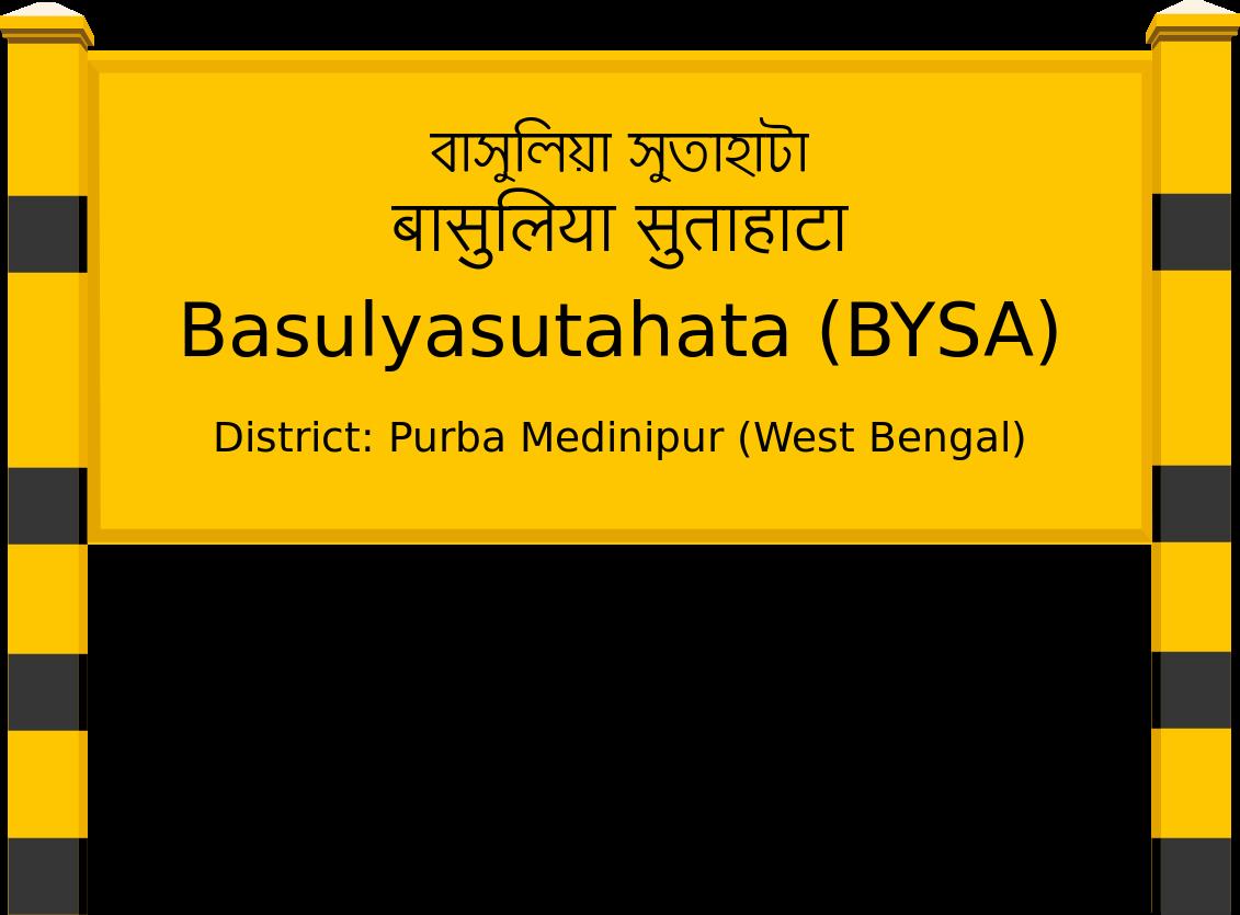 Basulyasutahata (BYSA) Railway Station