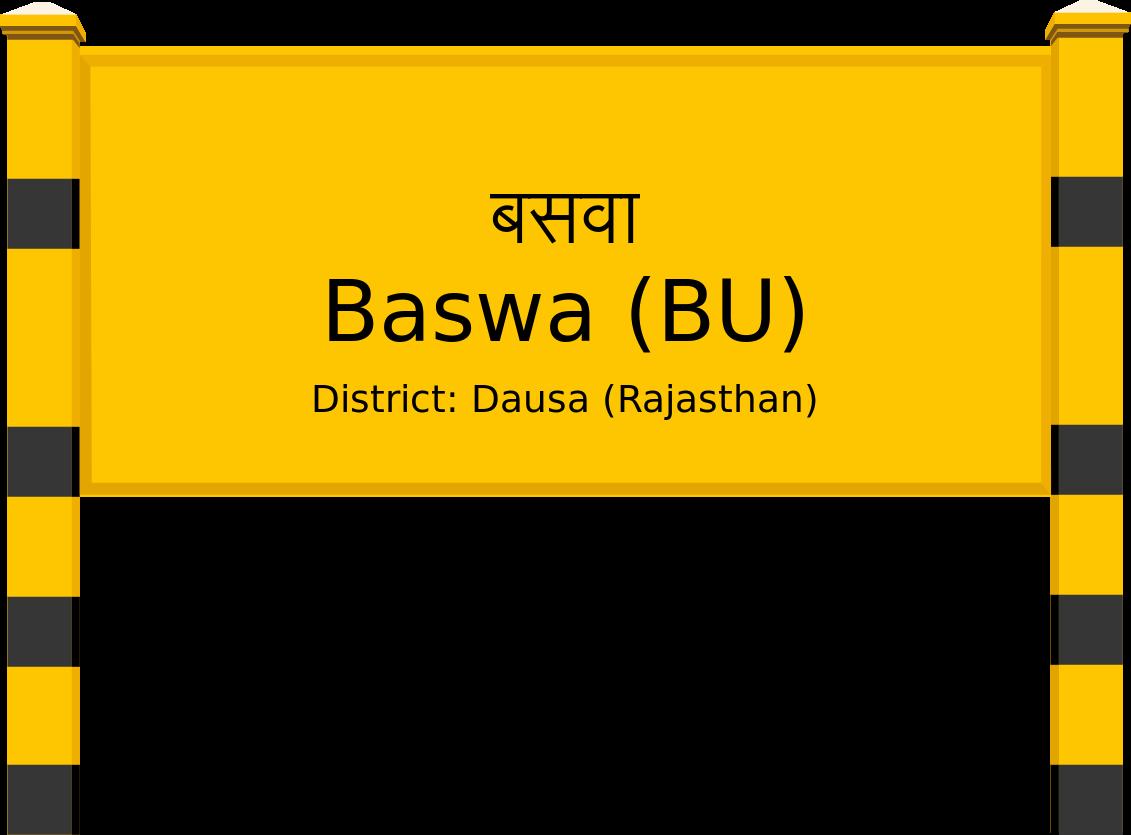 Baswa (BU) Railway Station