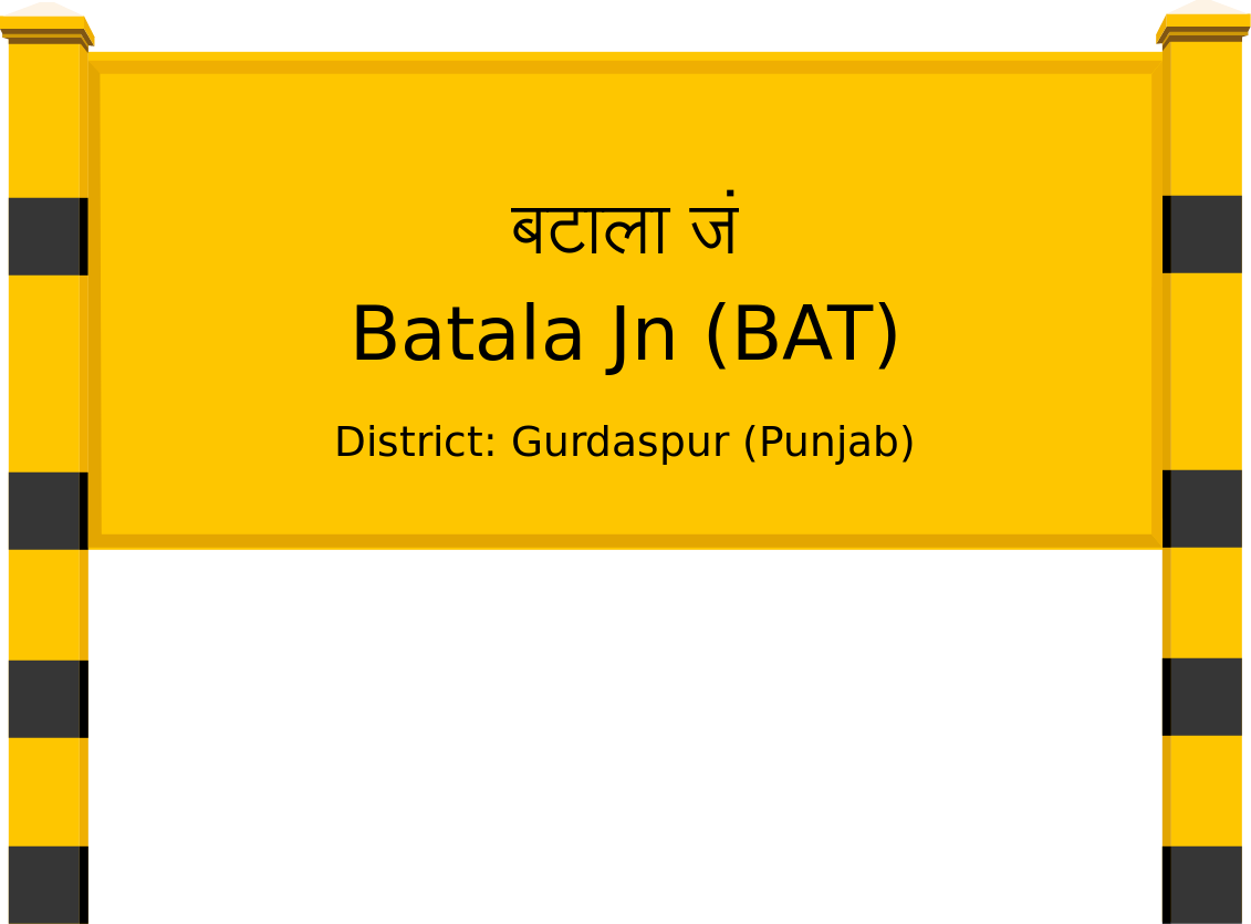 Batala Jn (BAT) Railway Station
