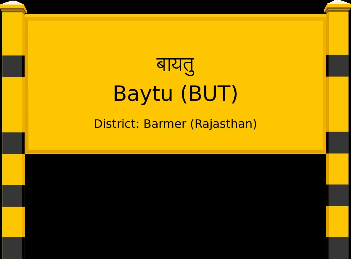 Baytu (BUT) Railway Station