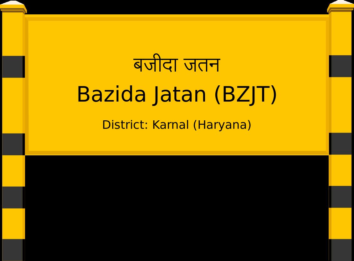 Bazida Jatan (BZJT) Railway Station