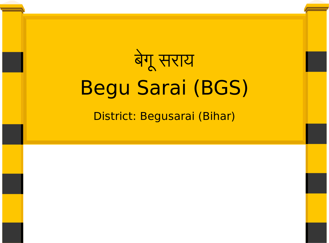 Begu Sarai (BGS) Railway Station