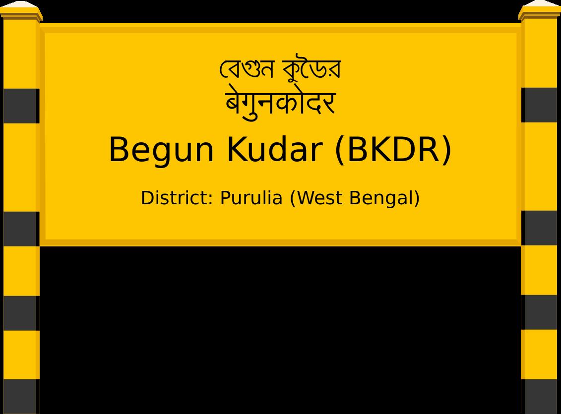 Begun Kudar (BKDR) Railway Station