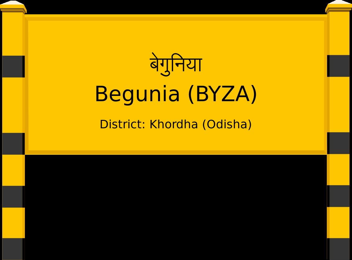 Begunia (BYZA) Railway Station
