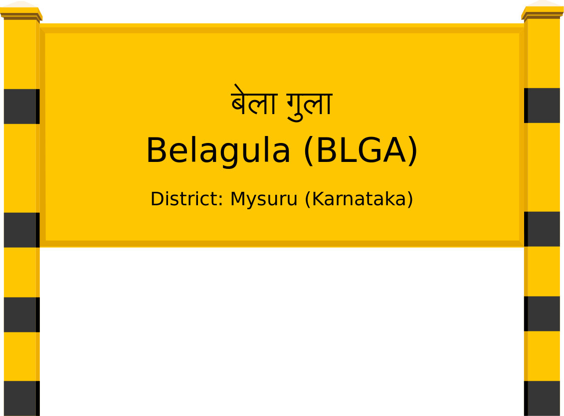 Belagula (BLGA) Railway Station