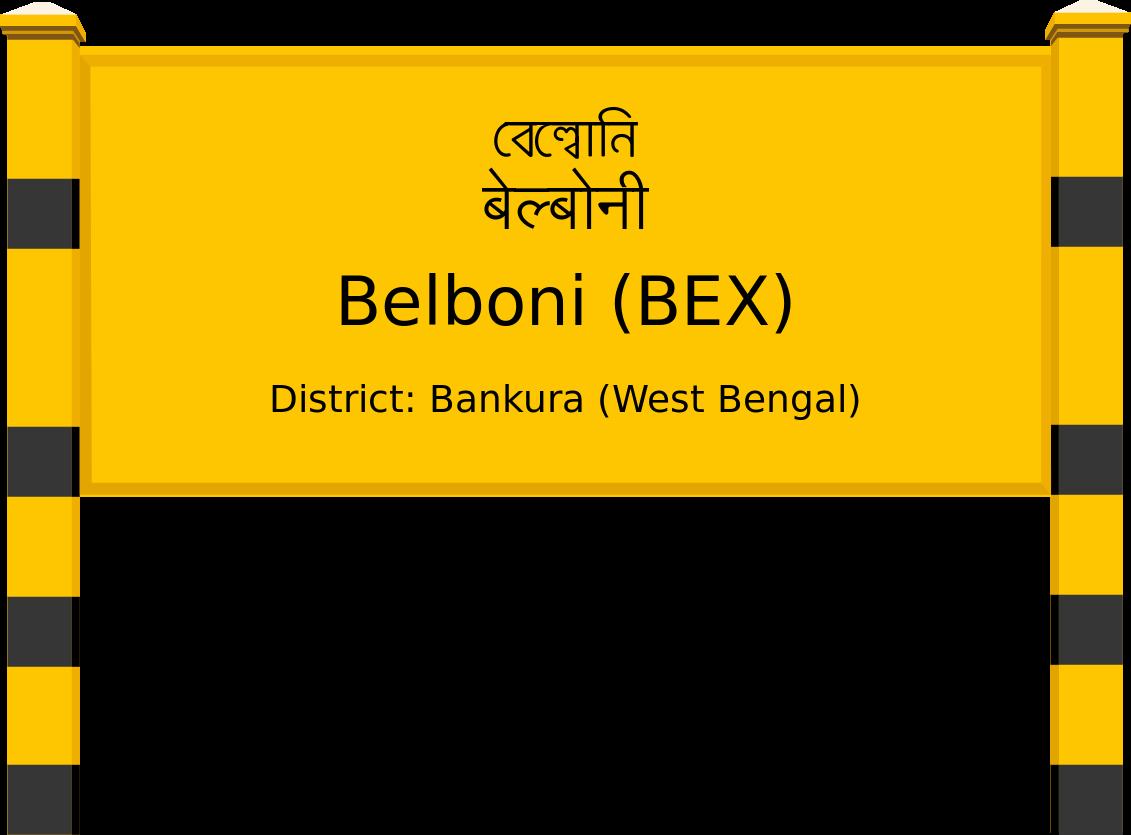 Belboni (BEX) Railway Station