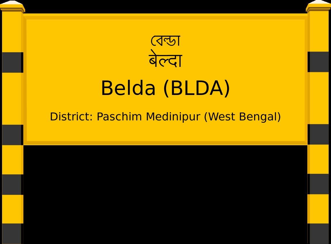 Belda (BLDA) Railway Station