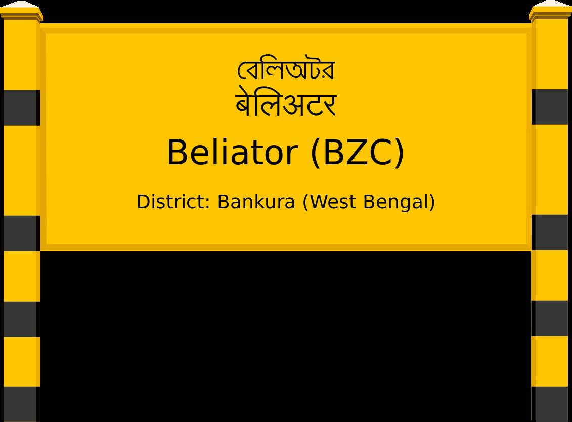 Beliator (BZC) Railway Station