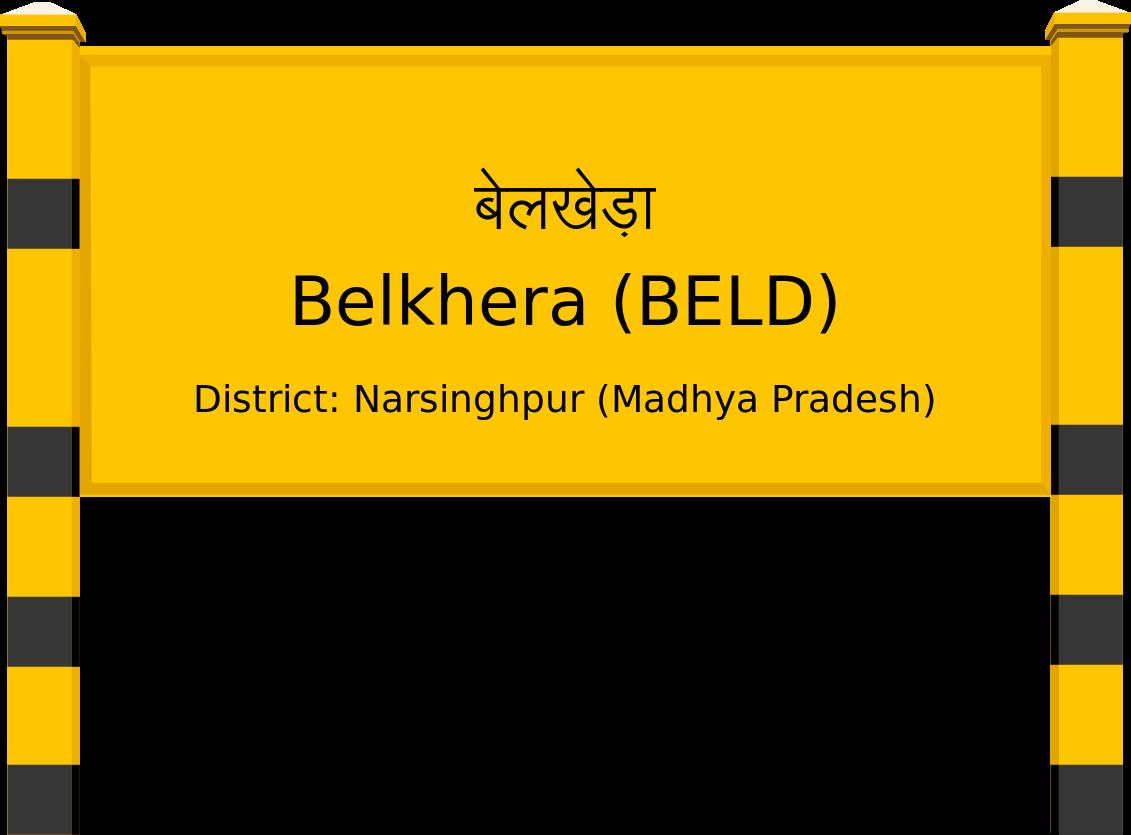 Belkhera (BELD) Railway Station