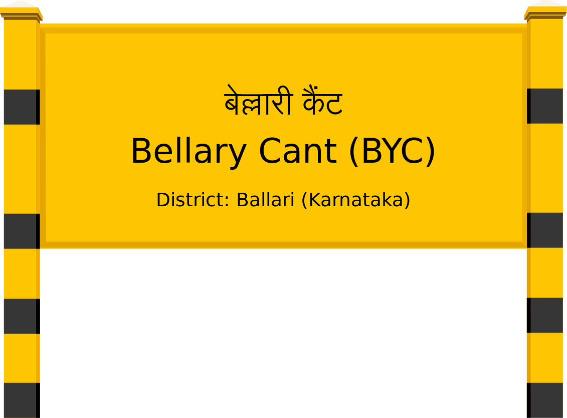 Bellary Cant (BYC) Railway Station