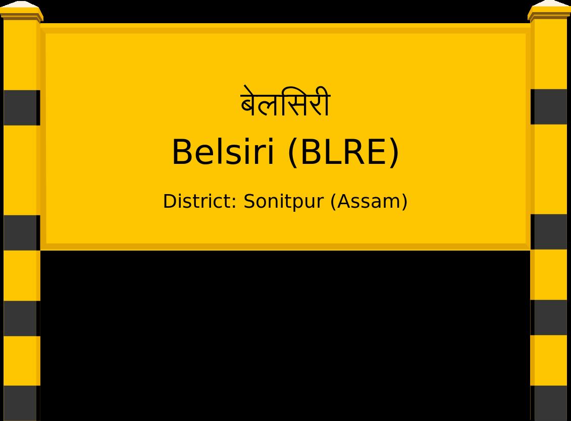 Belsiri (BLRE) Railway Station