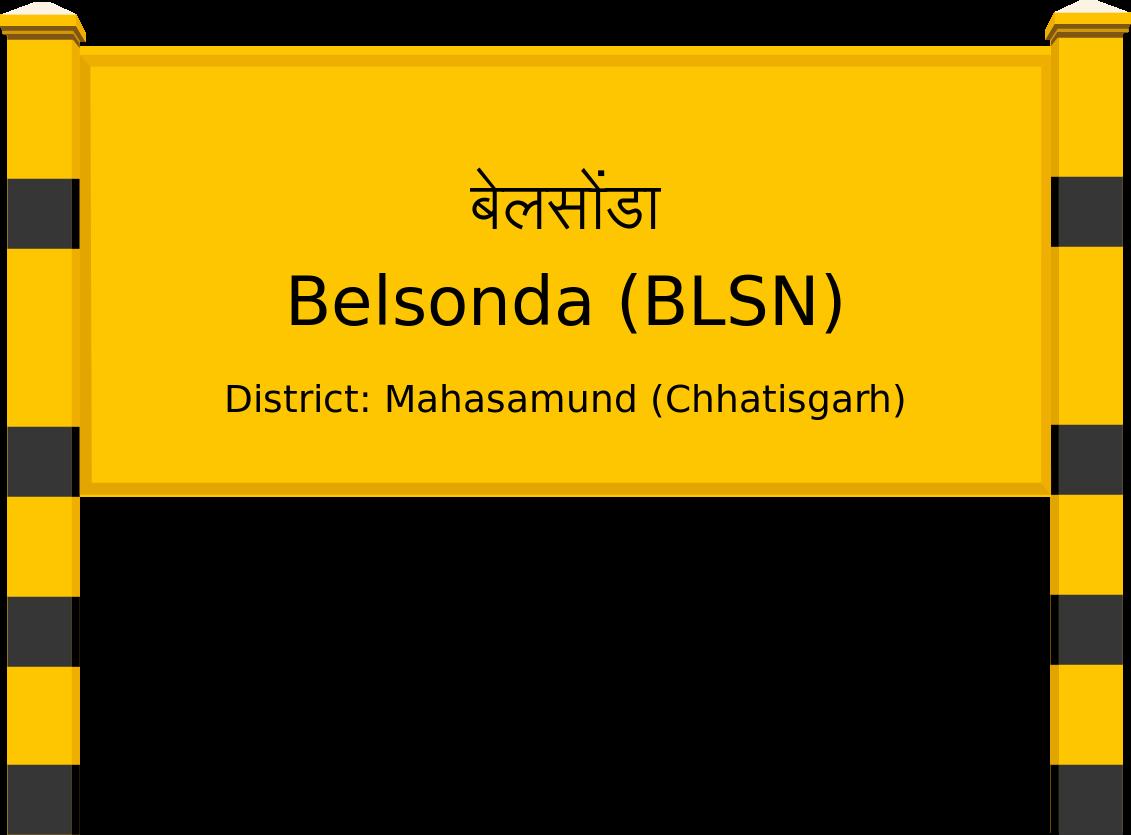 Belsonda (BLSN) Railway Station
