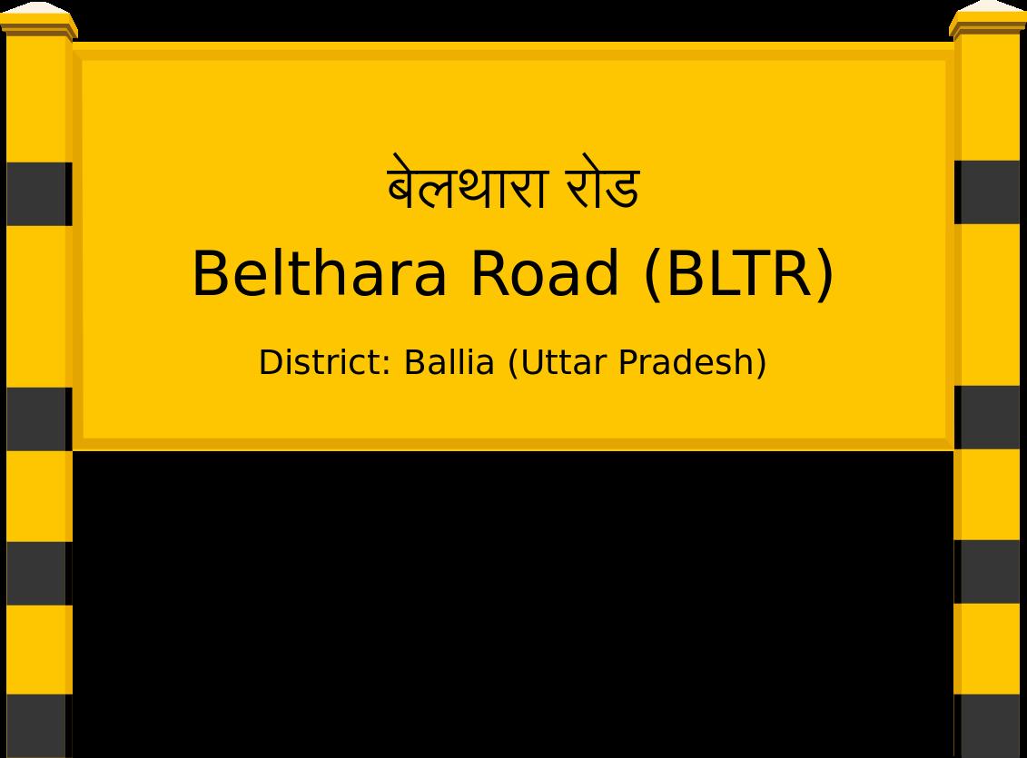Belthara Road (BLTR) Railway Station