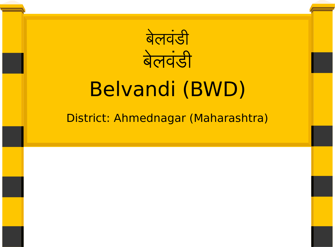 Belvandi (BWD) Railway Station
