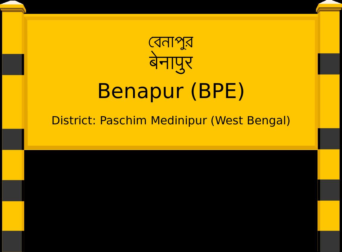 Benapur (BPE) Railway Station