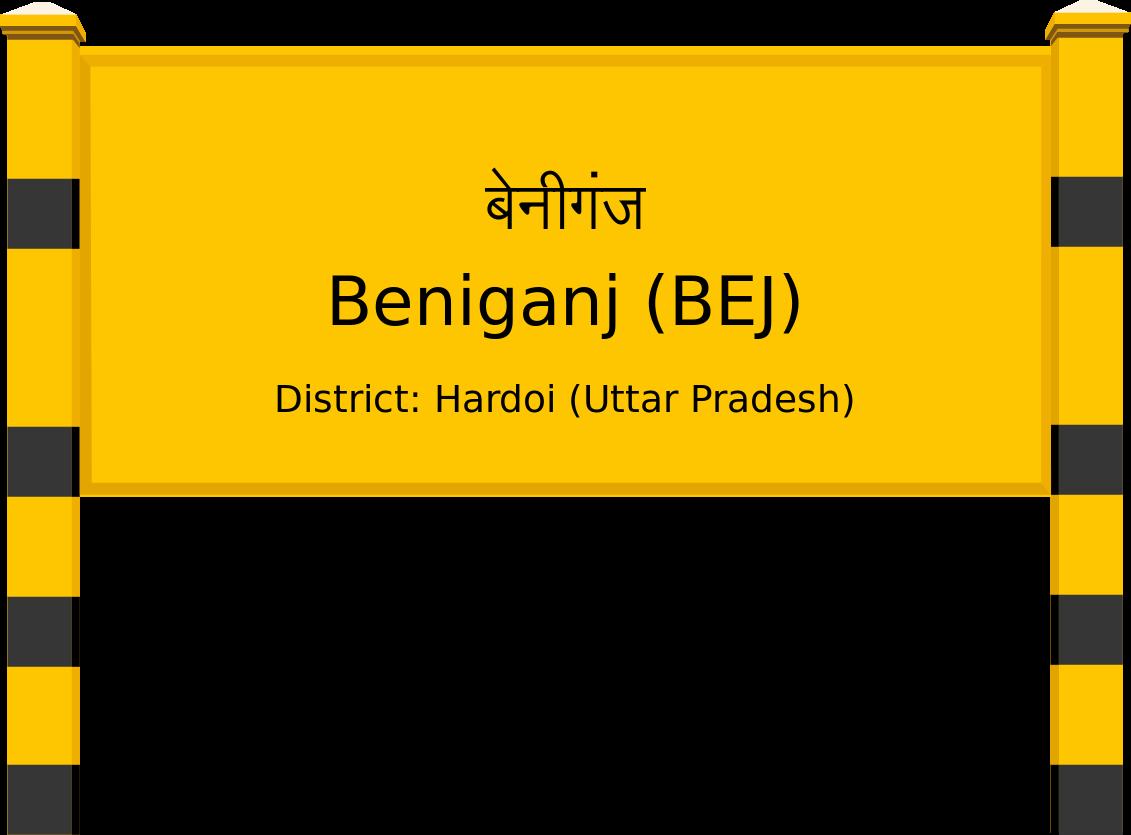 Beniganj (BEJ) Railway Station