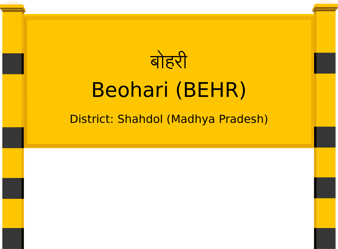 Beohari (BEHR) Railway Station