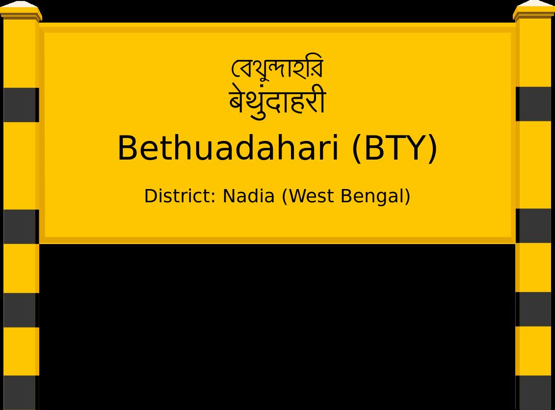 Bethuadahari (BTY) Railway Station
