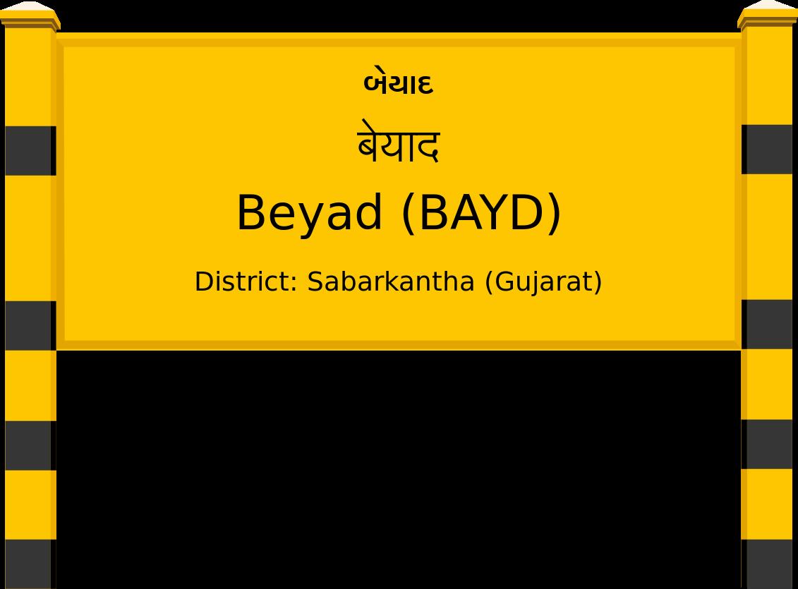 Beyad (BAYD) Railway Station