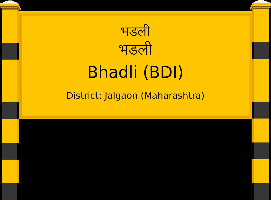 Bhadli (BDI) Railway Station