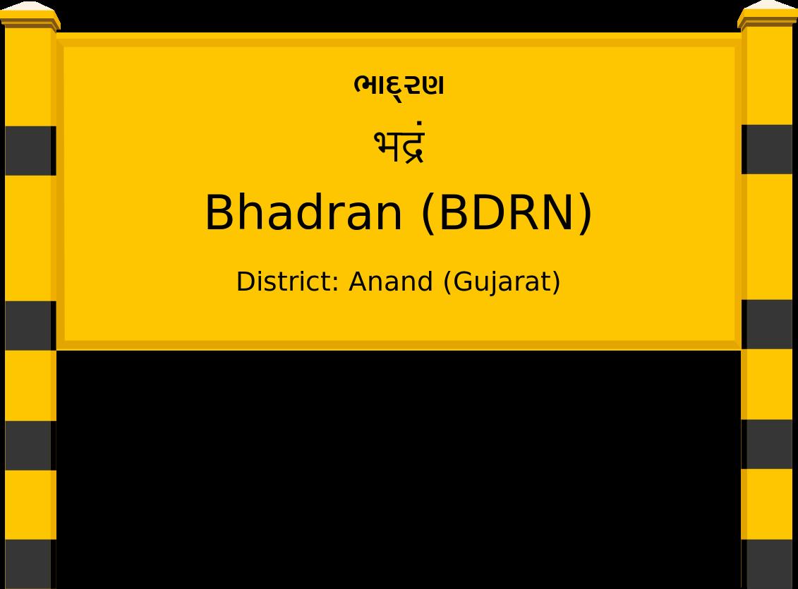 Bhadran (BDRN) Railway Station