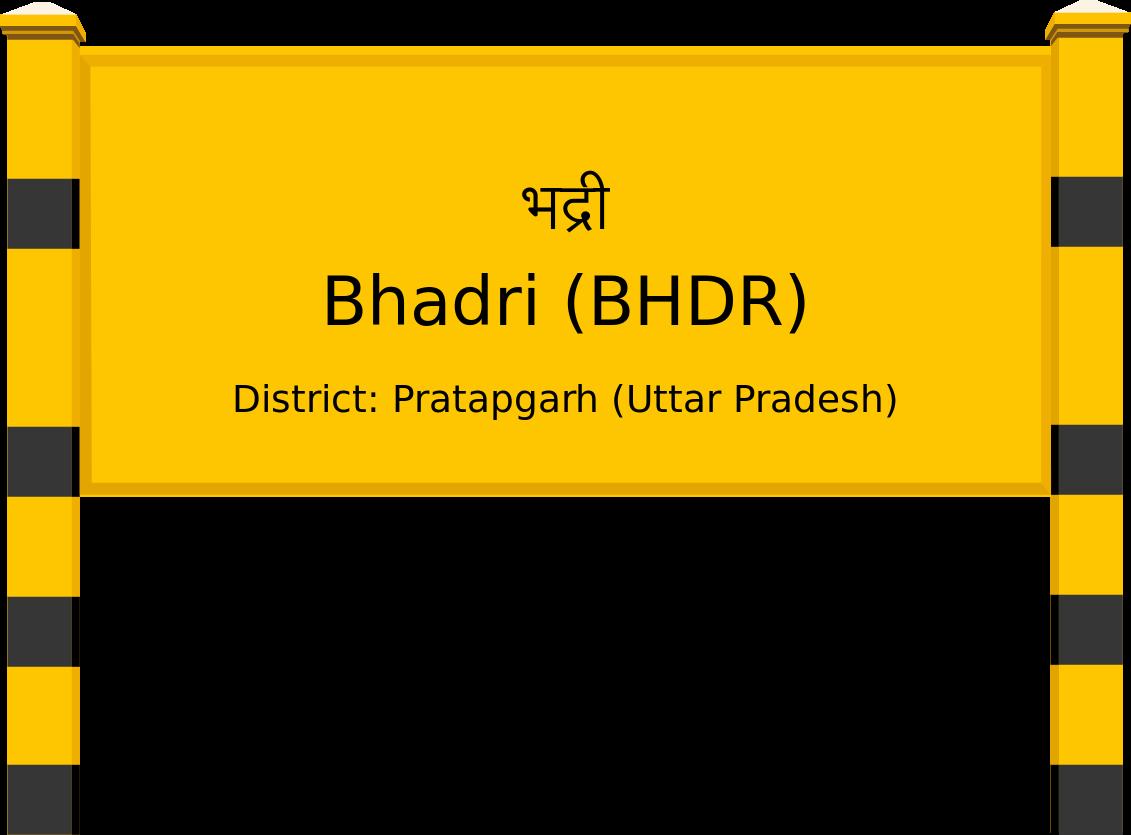 Bhadri (BHDR) Railway Station